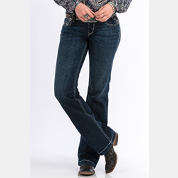 Cinch Ladies Jayley Trouser Jean with January Rinse