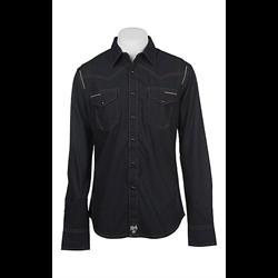 Wrangler Rock 47 Men's Black Long Sleeve Western Shirt