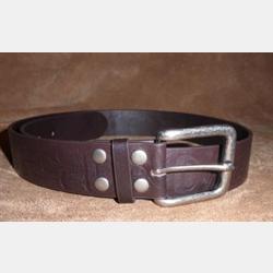 Native Northwest Leather Eagle Belt