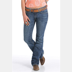 Cinch Abby Jeans Mid Rise Medium Stonewash