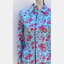M Sport 6 Mint Floral Air Conditioned Top