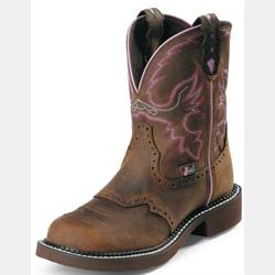 Justin Ladies Gypsy Aged Bark Short Boots