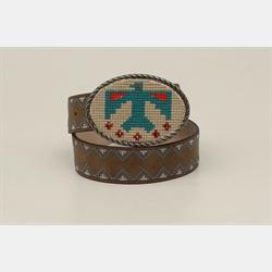 Ariat Girls Thunderbird Brown Belt
