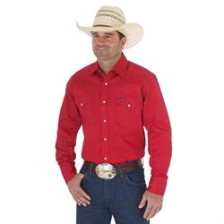 Wrangler Authentic Cowboy Cut Work Shirt