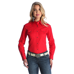 Wrangler Checotah Fashion Top Red