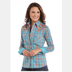 Rough Stock Ladies Edgewood Antique Plaid