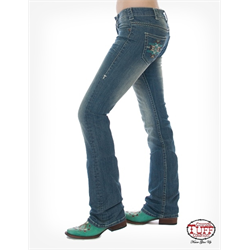 Cowgirl Tuff Ladies Jeans Southwest Charm
