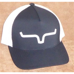 19a88a99c Kimes Ranch Black White Ball Cap Large to Extra Large | The Horse Barn
