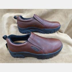 Roper Leather Men's Slip On Brown