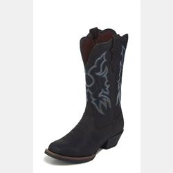 Justin Ladies Brandy Dark Brown Cowboy Boots