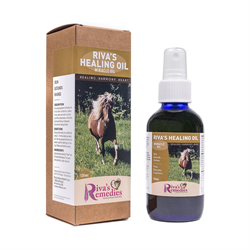 SUPP/RIVAS REMEDIES/HEALING OIL/120ML
