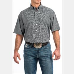 Cinch Men's Short Sleeve Arenaflex Button Black Shirt