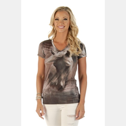 Liberty Wear Ladies Dusty Trails T Shirt