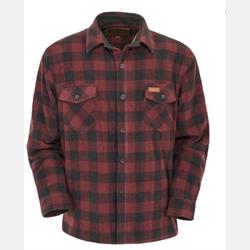 Outback Men's Big Shirt Rust Plaid