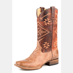 Roper Ladies Ruby Square Toe Western Boots
