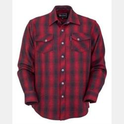 Outback Men's Mount Elk Red Big Shirt