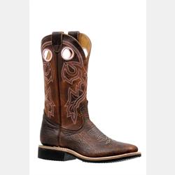 Boulet Ladies Cowboy Boots Wide Square Toe