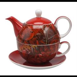 GIFT/MUG/MCINTOSH TRADING/MC0194/BATEMAN CARDINAL AND SUMAC TEA FOR 1