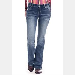Rock N Roll Cowgirl Junior Riding Boot Cut Signature Jean