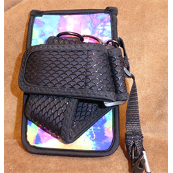 BAG/CELL HOLSTER/THH/TIE DYE-LONG STRAP