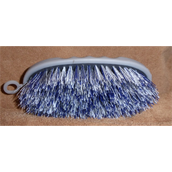 BRUSH/PC/ST160-CHA/SMALL SHORT BRISTLE POLY BRUSH
